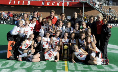 The 2008 Marlyand Field Hockey NCAA Champhionship Team!