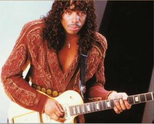 The King of the Jheri Curl, Rick James