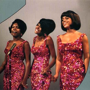 The Supremes were solid gold with relaxed hair