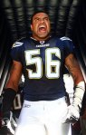 "Shawne Merriman in one word, ""collected""."