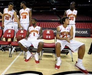 Maryland Media Day Basketball